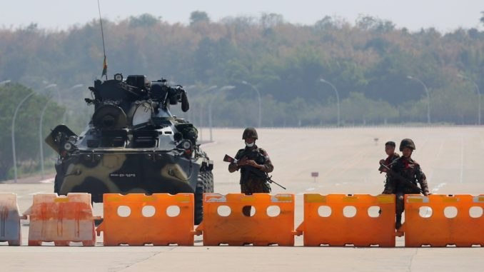 Military Coup in Myanmar: Options for India